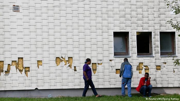Flüchtlingsheim in Burbach 29.09.2014
