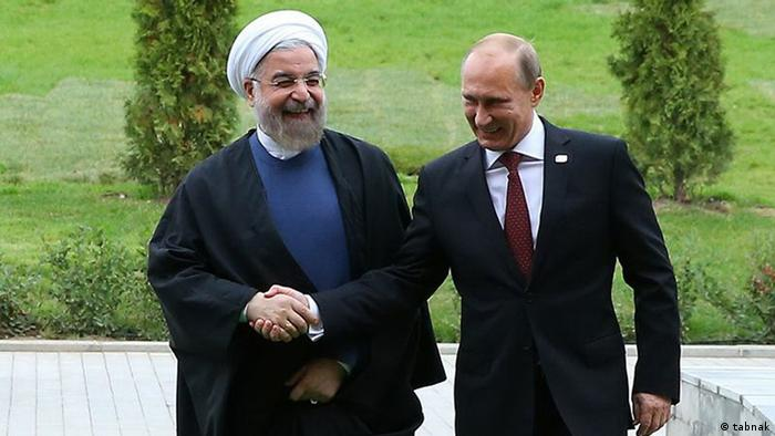 Putin and Rohani