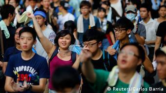 Demonstrationen Hongkong 29.09.2014