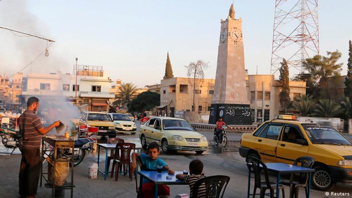 Syrian town of Raqqa