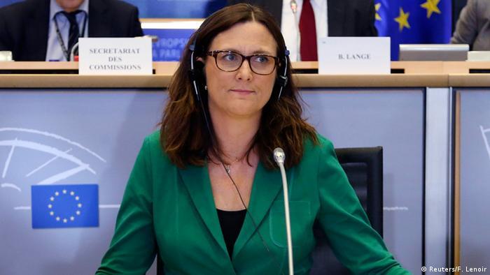 Єврокомісарка Сесилія Мальмстрьом