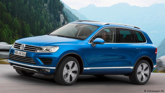 Deutschland Auto VW Touareg 2014