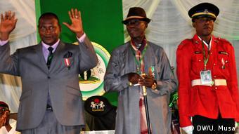 Nigeria Auszeichnungen Präsident Goodluck Jonathan
