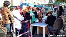 Ukraine Kiew Flüchtlinge