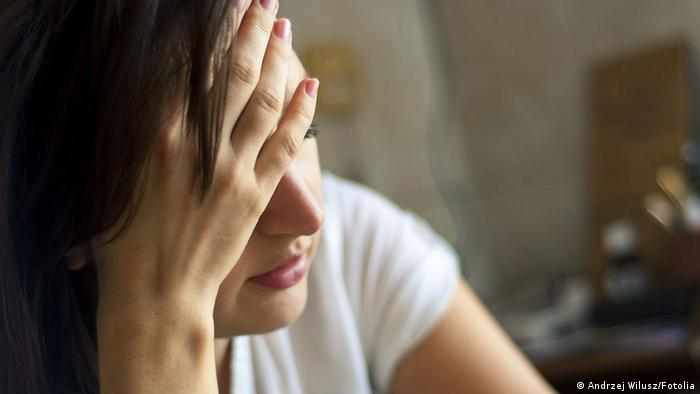 Symbolbild Kopfschmerzen Migräne