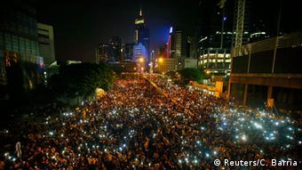 Hongkong Proteste 25.10.2014