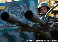 Український військовослужбовець на Донбасі. Архівне фото