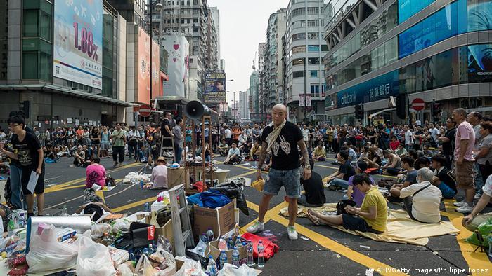 Estudiantes plantean ultim�tum en Hong Kong