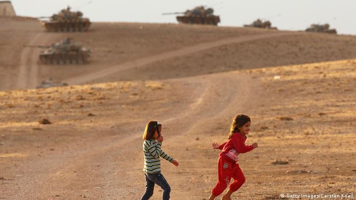 Kampf um Kobani Sicherheitsvorkehrungen auf der türkischen Seite 29.09.2014