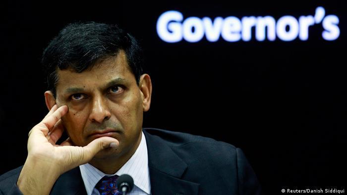 Indien Notenbankchef Raghuram Rajan 30.09.2014