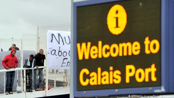 Flüchtlinge in Calais Archiv 2013 Foto: Getty Images