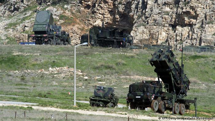 Patriot Raketen der Bundeswehr in der Türkei 25.03.2014