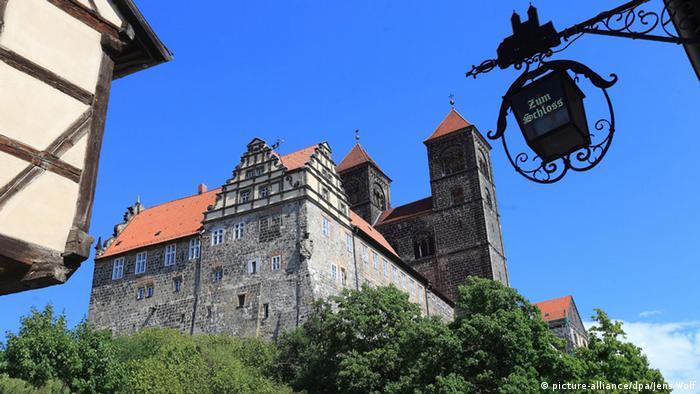 Кведлинбургский замок (Schloss Quedlinburg)