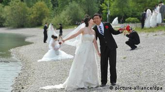 Hochzeit China (picture-alliance/dpa)