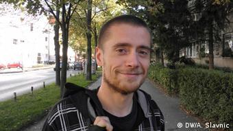 Weltvegetariertag 01.10. Igor Kalaba aus Bosnien und Herzegowina