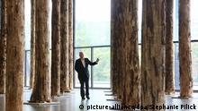 Bildergalerie David Chipperfield Ausstellung Sticks and Stones Neue Nationalgalerie Berlin