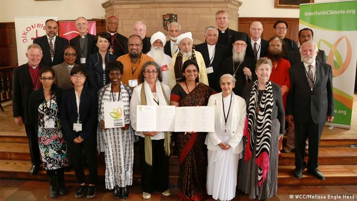 Interfaith Climate Summit participants. (Photo: WCC/ Melissa Engle Hess)