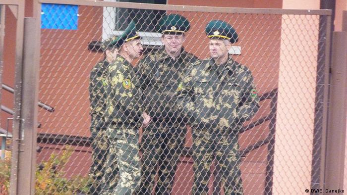 На границе Беларуси с ЕС