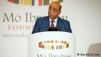 Mo-Ibrahim-Index für Regierungsführung in Afrika, 29.09.2014 in London