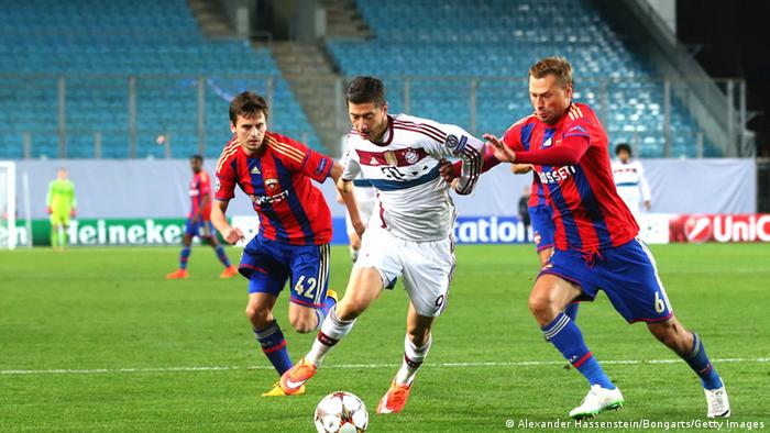 Bayern Munich vs. CSKA Moscow in Moscow