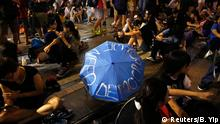 China Studentenprotest in Hongkong Occupy Central