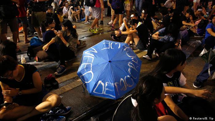 Trebamo demokraciju! - studentski protesti u Hongkongu