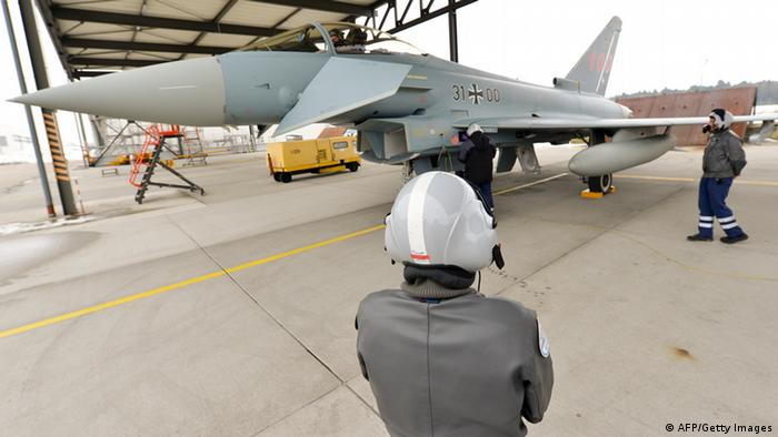 Mängel am Eurofighter (AFP/Getty Images)