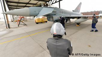 Боевой самолет Eurofighter