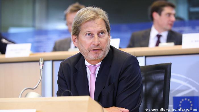 Єврокомісар Йоганнес Ган сподівається, що Україна залучатиме більше інвестицій