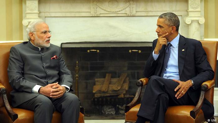 Нарендра Моди и Барак Обама