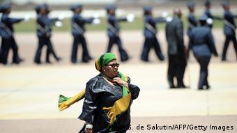 Südafrika Verteidigungsminister Nosiviwe Mapisa-Nqakula