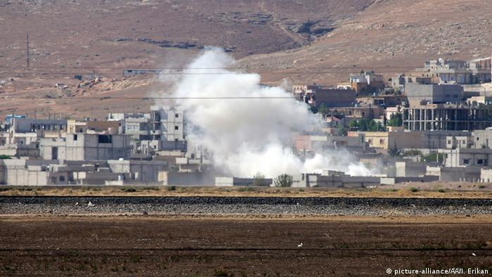 Syrien - Explosion in Kobane