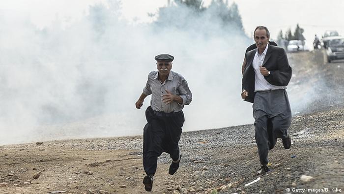 Syrien - Kurden in Kobane