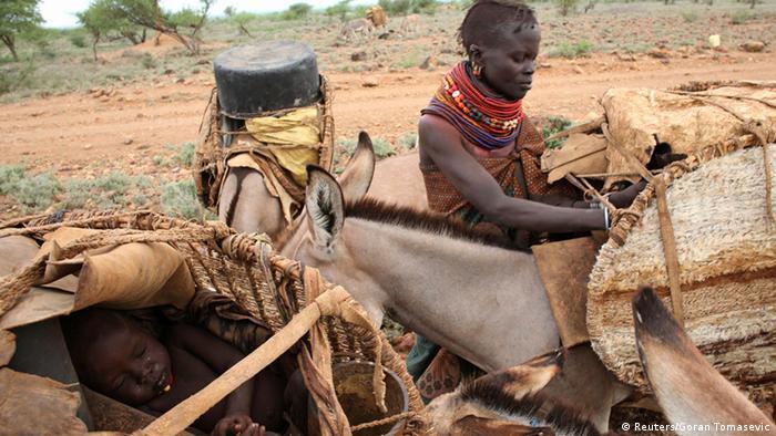 Bildergalerie Turkana Stamm aus Kenia
