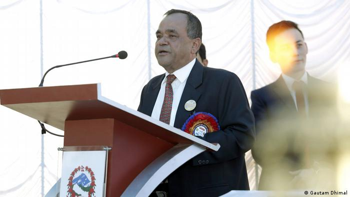 Shyam Raj Upreti vom Nepalesischen Gesundheitsministerium Foto: Gautam Dhimal