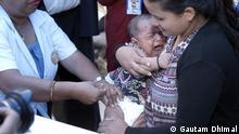 Polio-Impfung in Nepal EINSCHRÄNKUNG