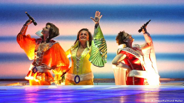 Stage image from Mamma Mia