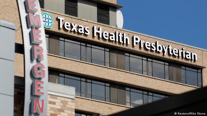 Texas Health Presbyterian Hospital in Dallas Ebola-Patient 01.10.2014