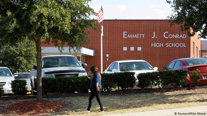 Gebäude der Emmet J. Conrad High School in Dallas (Foto: Reuters)
