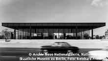 Neue Nationalgalerie, Ansicht Potsdamer Straße, 1968