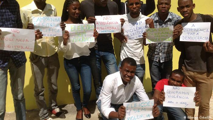 Mosambik Bürgerbewegung Nein zu Gewalt bei Wahlen