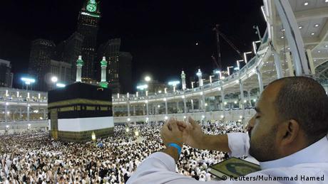 Beginn Pilgerfahrt Hadsch in Mekka 01.10.2014