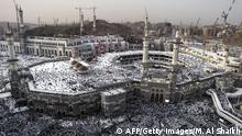 Beginn Pilgerfahrt Hadsch in Mekka 30.09.2014