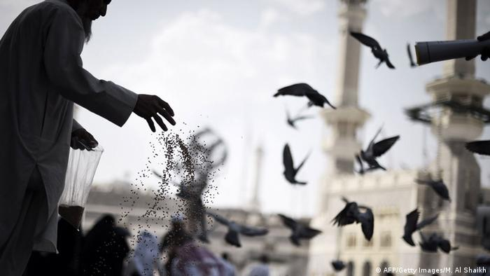 Beginn Pilgerfahrt Hadsch in Mekka 29.09.2014 (AFP/Getty Images/M. Al Shaikh)