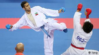 سعید حسنیپور، برنده مدال طلای کاراته