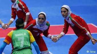 تیم ملی کبدی زنان