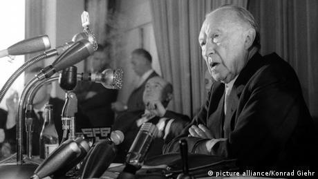 Konrad Adenauer in 1961