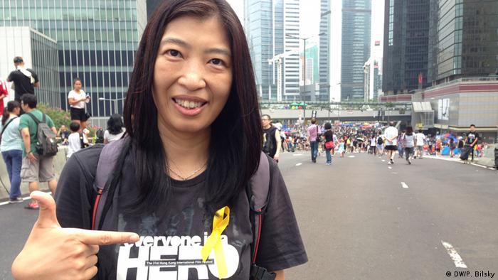 Proteste in Hongkong 02.10.2014