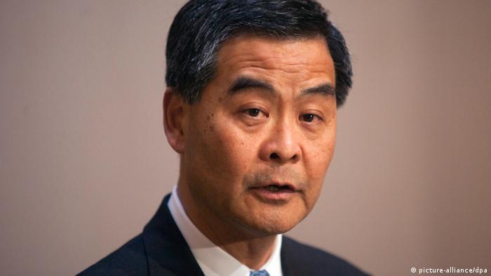 Hongkong Leung Chun Ying (picture-alliance/dpa)