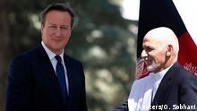 Afghanistan David Cameron und Aschraf Ghani in Kabul 03.10.2014